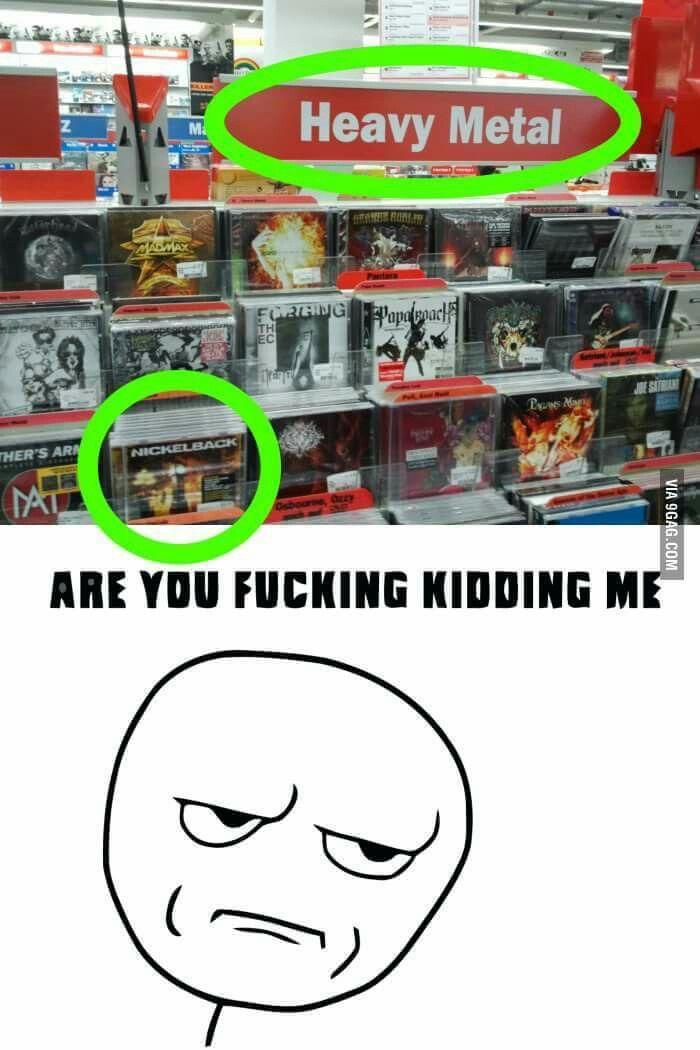 Store Bought Metal Metal Meme Metal Music Music Memes