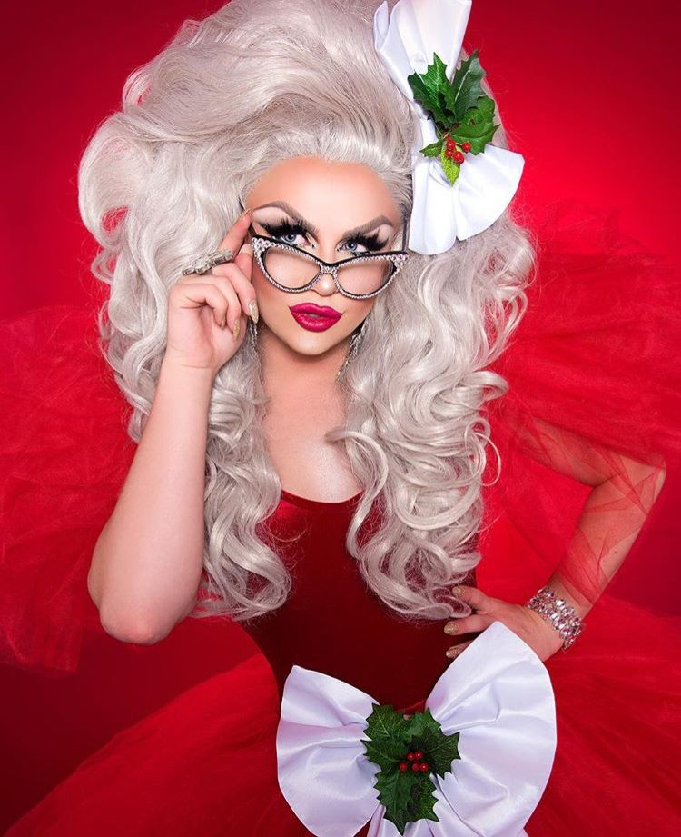 Drag Queen Christmas.Pin On Drag