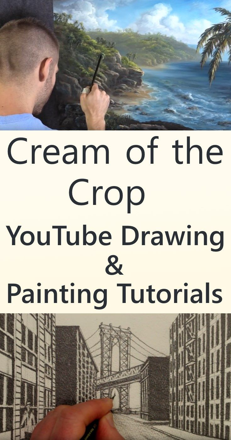 Best youtube channels for learning to paint with images