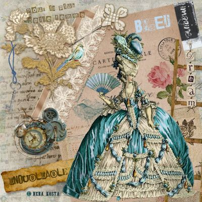 VINTAGE, EL GLAMOUR DE ANTAÑO MIS DISEÑOS VINTAGE Paper - diseos vintage