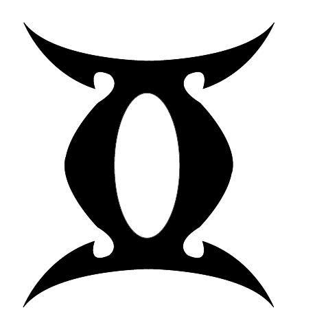 Gemini Symbol | Gemini | Pinterest | Gemini symbol, Gemini ...