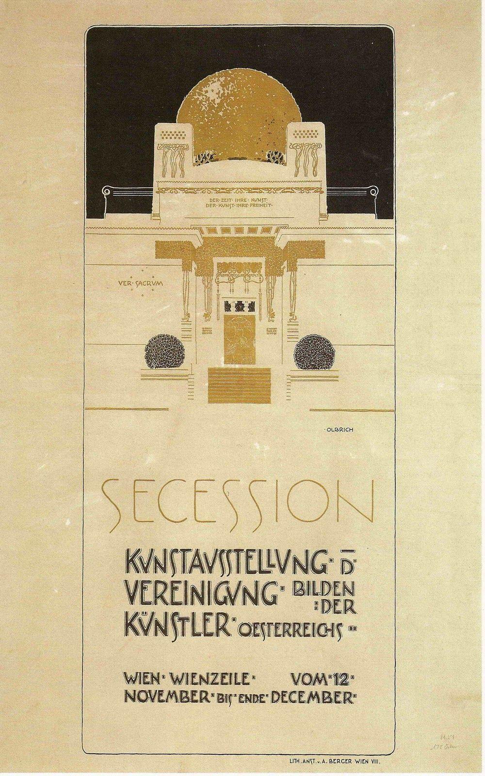 Joseph Maria Olbrich, 2. Secession, 1898