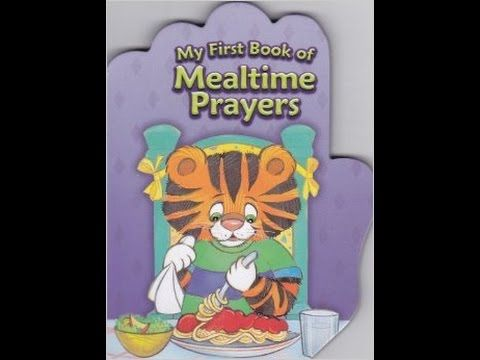 My First Book of Mealtime Prayers