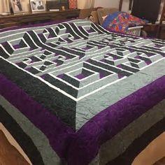 Bildergebnis für quilting design for labyrinth walk   for Devin ... : labyrinth quilts - Adamdwight.com