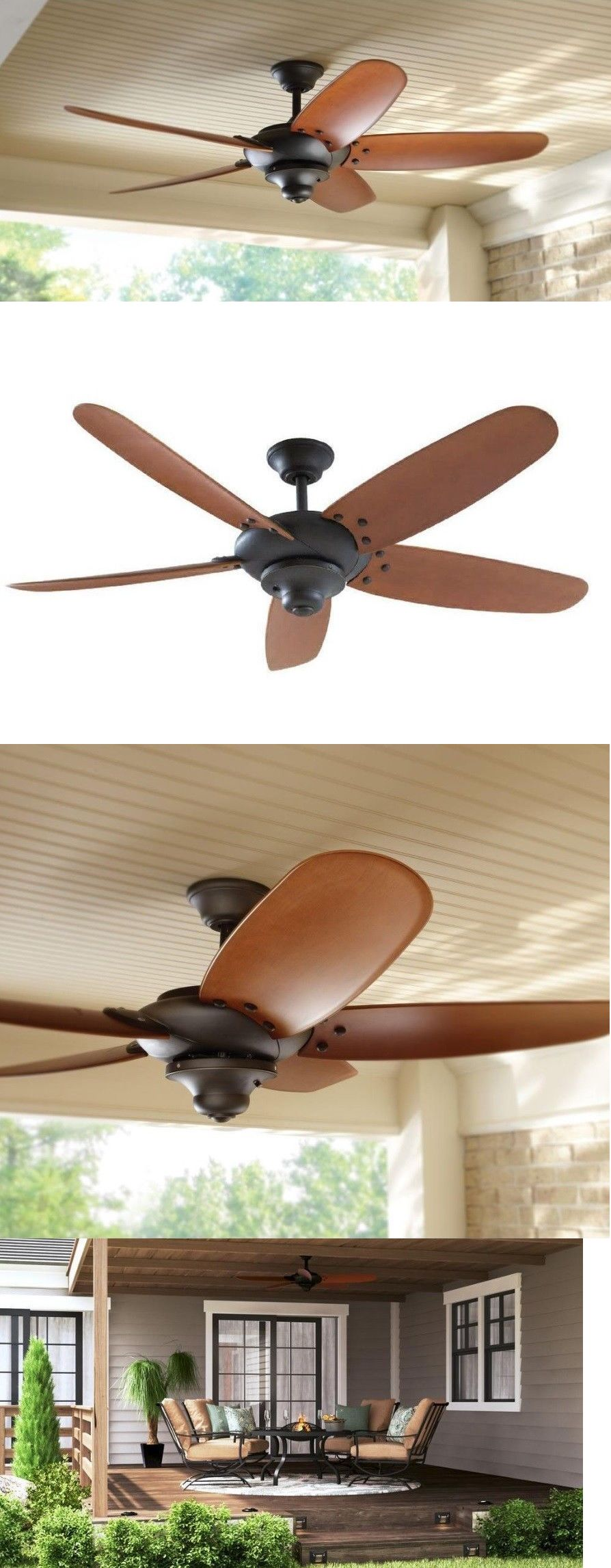 Ceiling Fans 176937 Home Decorators Collection 26660 Altura 60 In Indoor Outdoor Oil Rubbed Bronze Buy It Now Only 149 95 Ceiling Fan Ceiling Fans For Sale Bronze Ceiling Fan