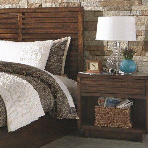 Coaster Furniture Avery 1 Drawer Nightstand