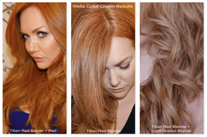 Strawberry Blonde Hair Hair Colour Kupferblond Kupfer