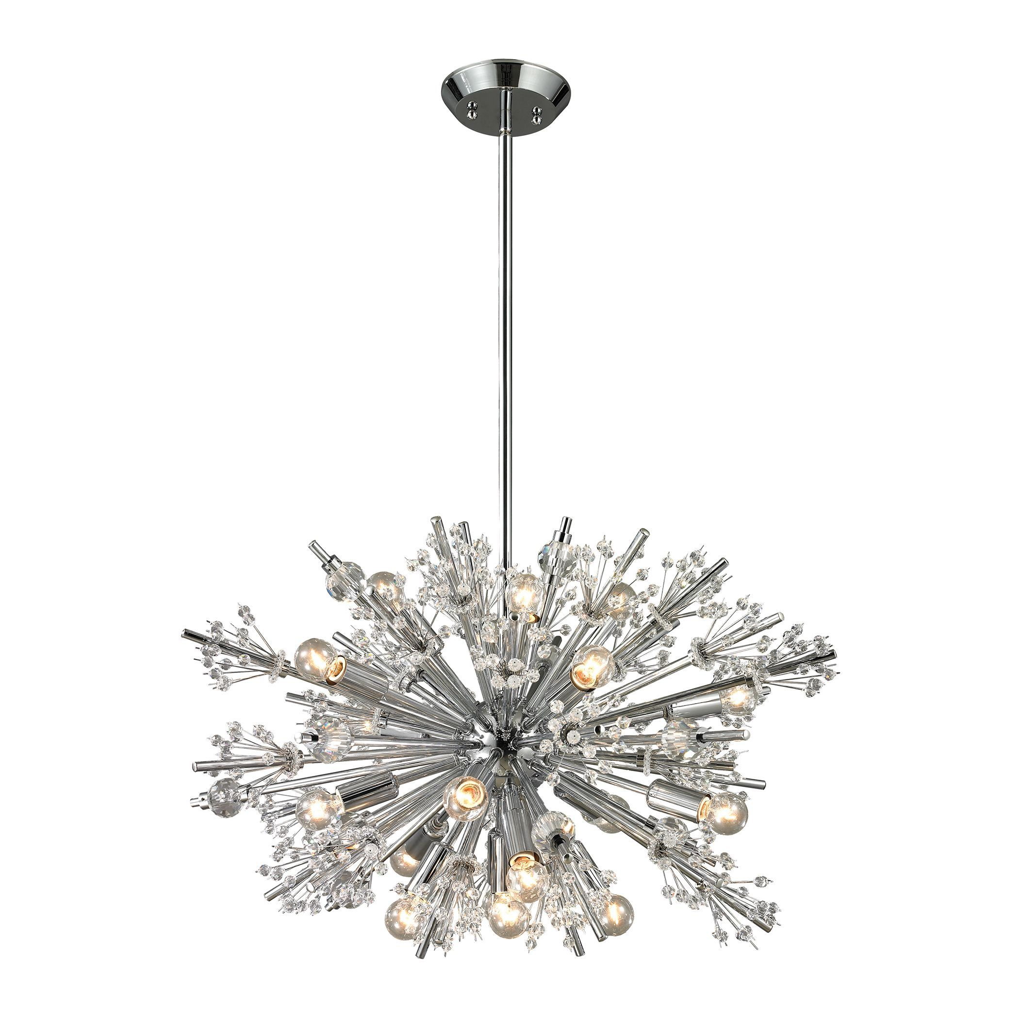 gallery teardrop pendant pendants lilybuds fine art lily lamps index urchin lighting foyer by entry chandeliers installation buds chandelier