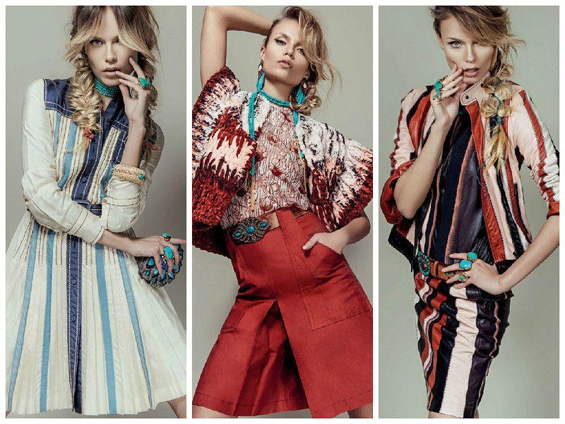 Модель - Natasha Poly Фотограф - Jacques Dequeker Издание - Vogue Brazil February 2015