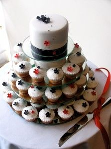 wedding cakes made of cupcakes Archives | The Wedding Specialists