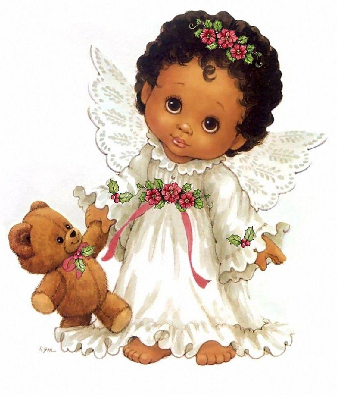 black angel clip art