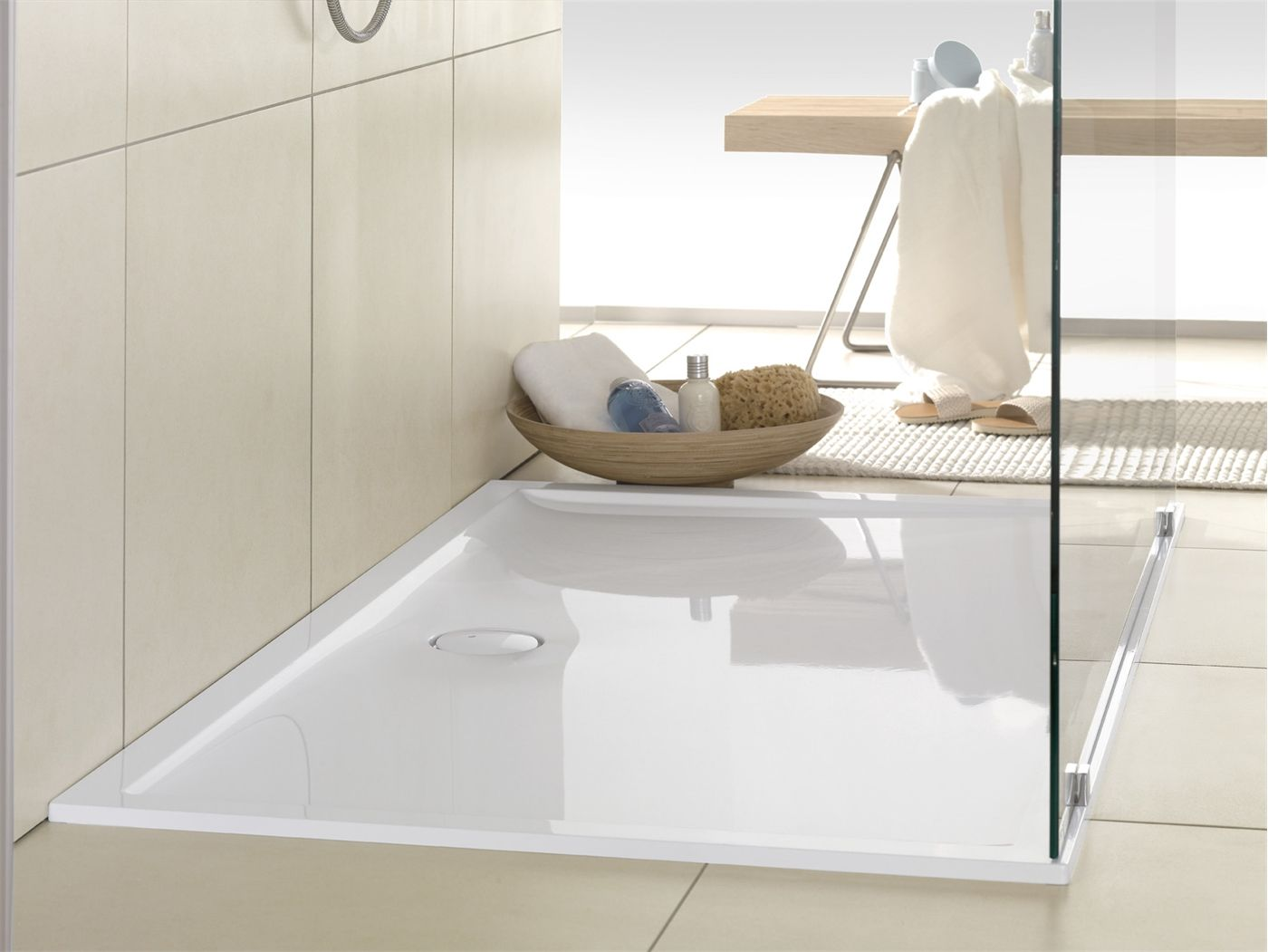 V B Futurion Flat Dusjkar 1000x800 Mm Produsert I Quaryl Dusjkar Bad Layout Produkter