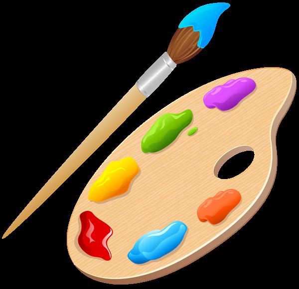 Artist Palette Png Clip Art Image Artist Palette Art Images Clip Art