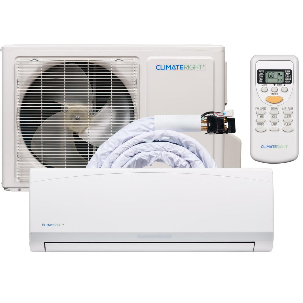 ClimateRight ClimateRight CR12000SACH 12,000 BTU Ductless
