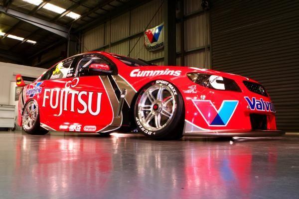 2013 Fujitsu Racing Livery Super Cars V8 Supercars V8 Supercars Australia