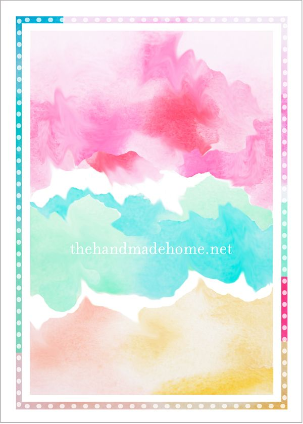 Watercolor birthday ideas tips and tricks free for Watercolour tips and tricks
