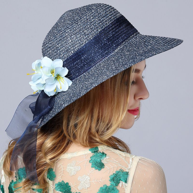 Click to Buy    Fashion New Summer Beach Hat Outdoor Leisure Travel ... e560d062fb23