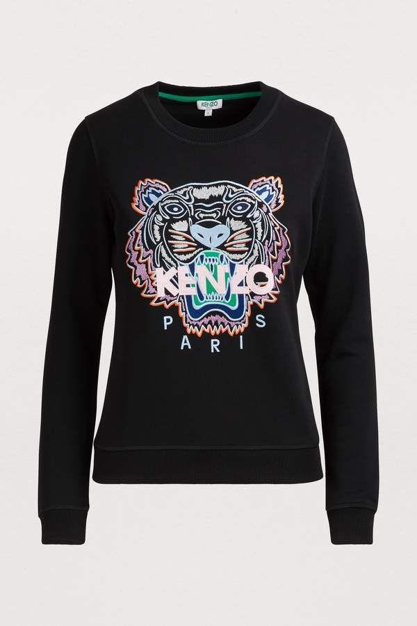 Tiger sweatshirt KENZO   Sweatshirts, Kenzo, Clothes
