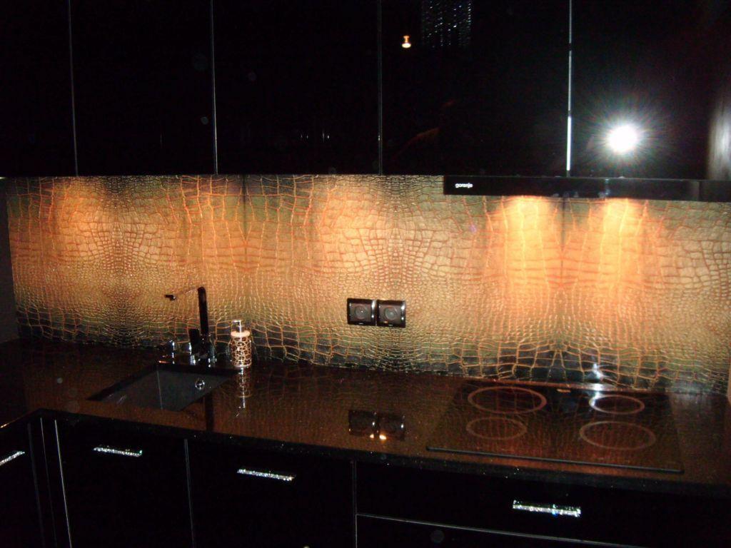 Skora Weza Backsplash Pl Panele Szklane Lighted Bathroom Mirror Bathroom Mirror Bathroom Lighting