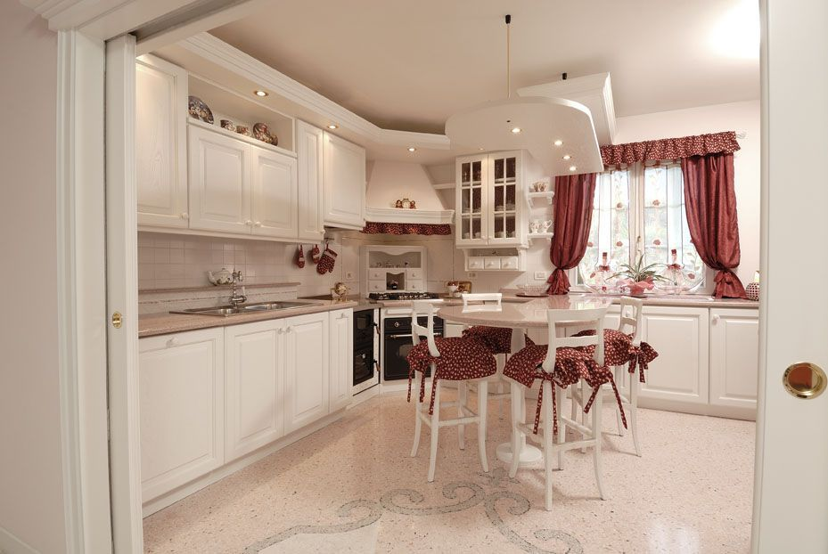 Cucine | Cucine Classiche | Cucina Romantica | Arredamenti su misura ...
