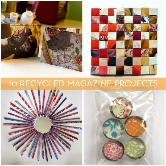 10 New Uses For Old Magazines » Curbly | DIY Design ...