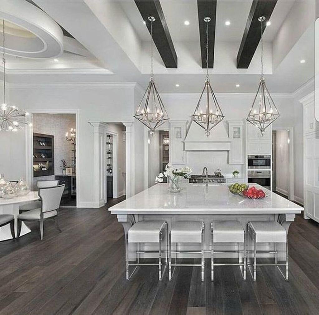 Best 38 Amazing Luxury White Kitchen Design To Renew Your 400 x 300