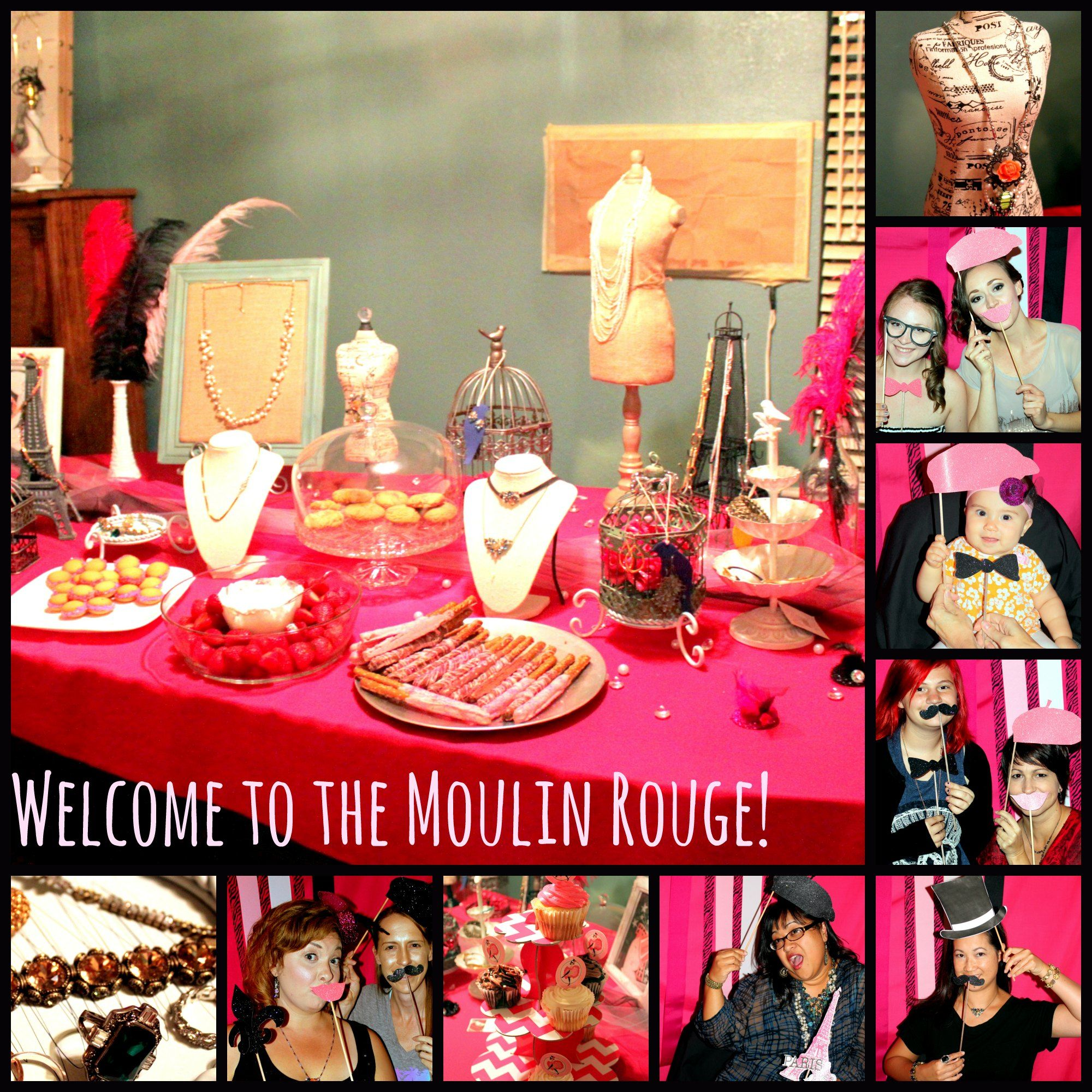 Moulin rouge party moulin rouge party pinterest - Tons Of Great Moulin Rouge Party Ideas