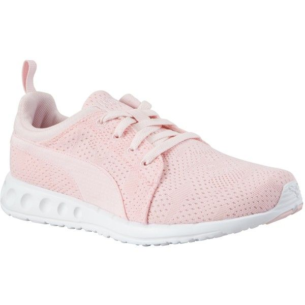 Puma Carson Women's Running Shoes, Pink (£55) ❤ liked on Polyvore featuring shoes, athletic shoes, plimsoll shoes, puma athletic shoes, pink shoes, puma footwear and rubber shoes