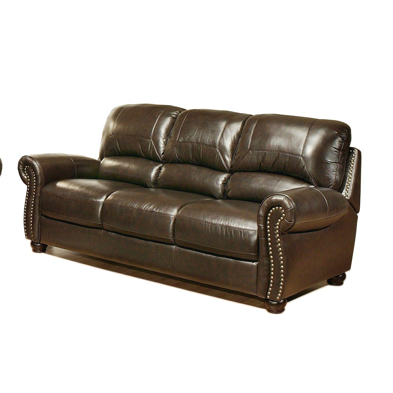 Groovy Furniture Living Room Dark Brown Full Grain Leather Sofa Pdpeps Interior Chair Design Pdpepsorg