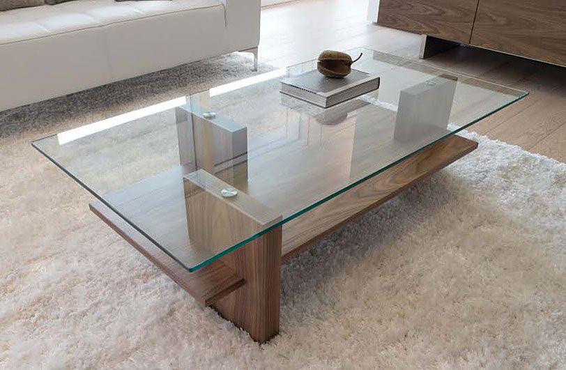 Mesa de centro moderna zen in 2019 hogar table - Mesas modernas de cristal ...