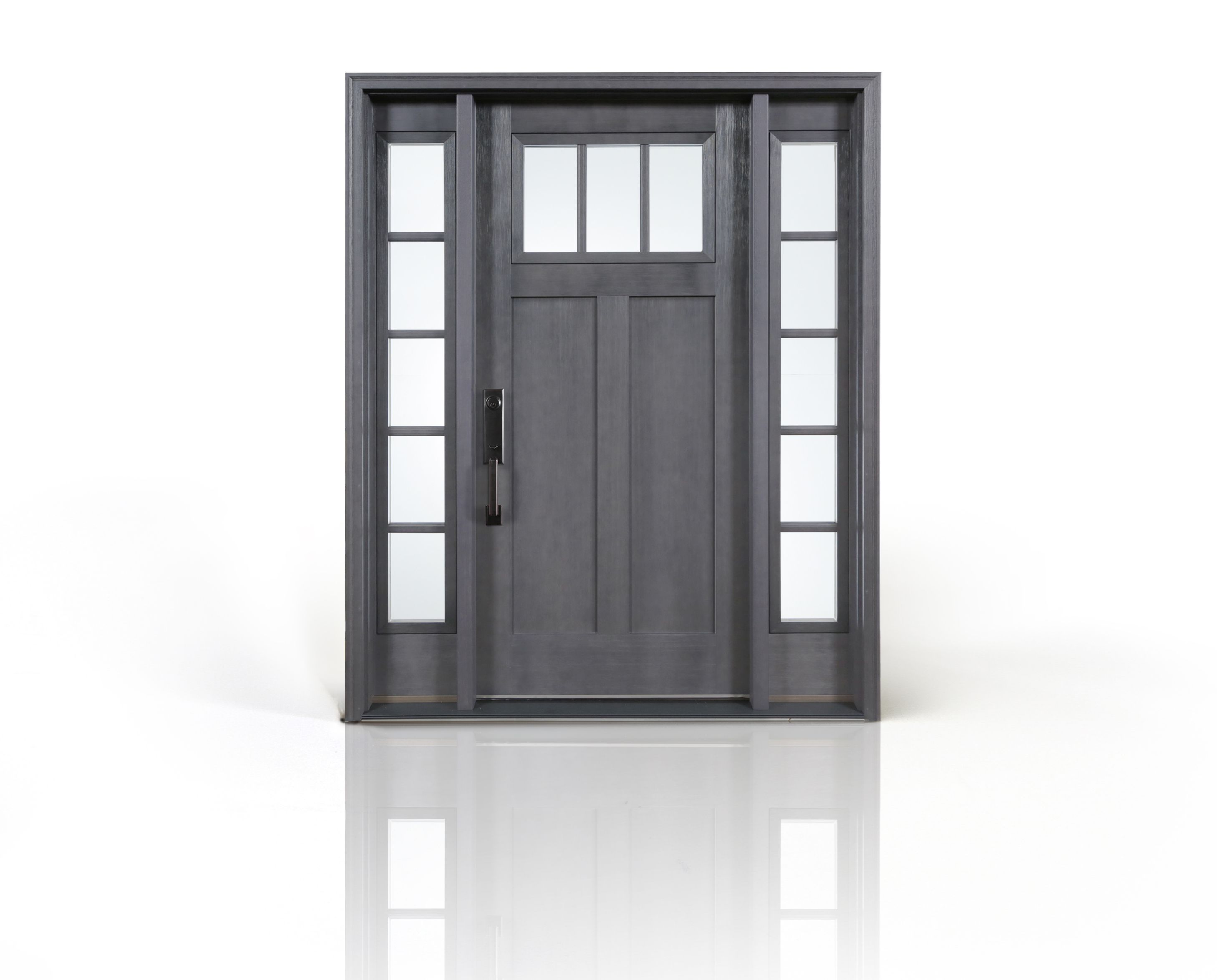 Clopay Craftsman Collection Fiberglass Entry Door In A