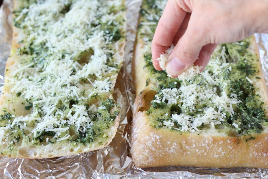 Basil Butter Garlic Bread | Recipe | Garlic bread, Appetizer ...