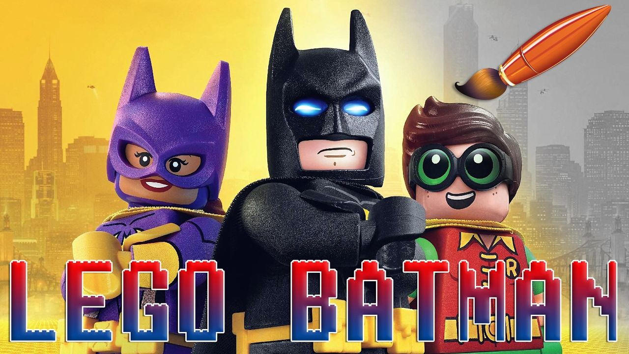 Lego Batman Movie with Batgirl and Robin - Kids Coloring Book ...