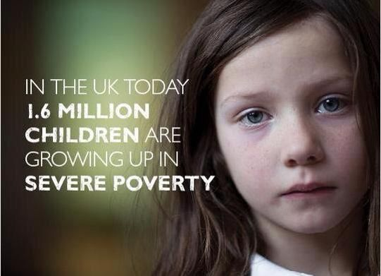 In the UK today 1.6 million children are growing up in severe poverty | Anonymous ART of Revolution