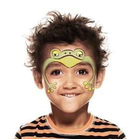 How to face paint a Frog   Snazaroo.co.uk