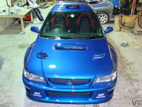 Subaru Impreza 22b Full Body Kit 2 Door Type Wide Arch Body Kit Subaru Impreza Wide Body Kits