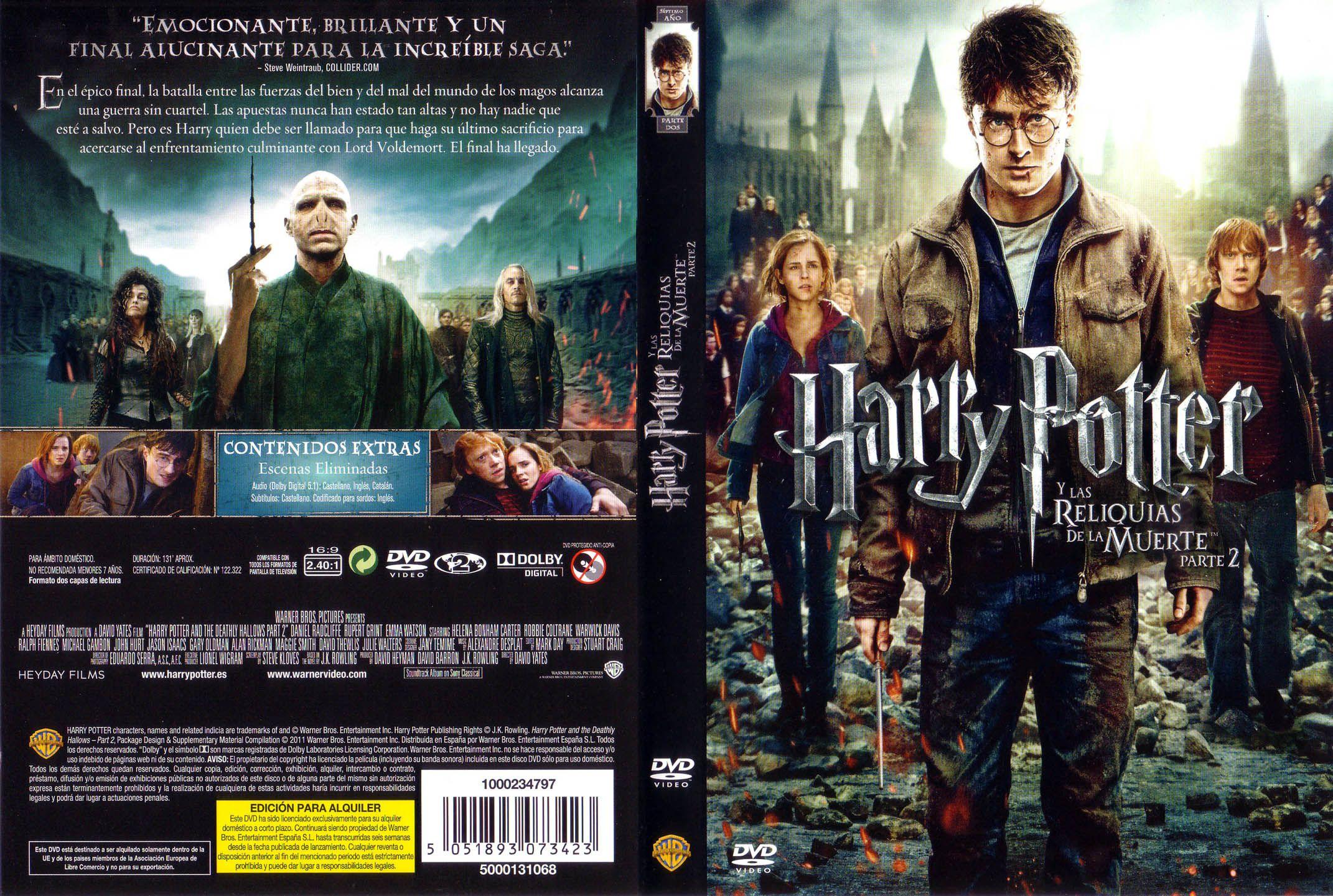 Harry Potter Y Las Reliquias De La Muerte Parte 2 Harry Potter Movies Movie Posters