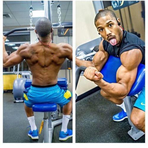Michael B Jordan Body 2015