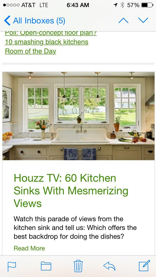 Kitchen window: Add windows! One on each side :)