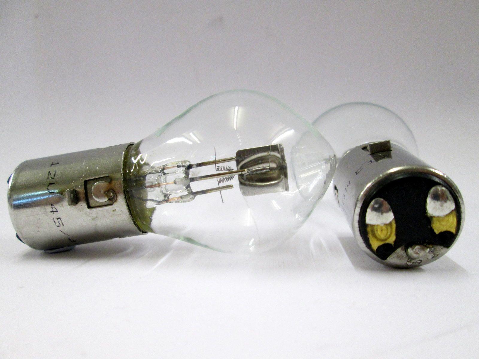 12V 45//40W BA20D Headlight Bulb