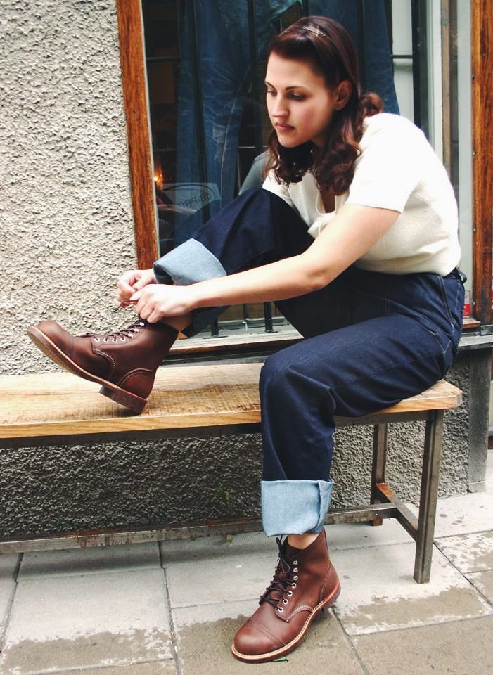 Red Wings 8111 Iron Rangers in Amber Harness | Shoe | Pinterest ...