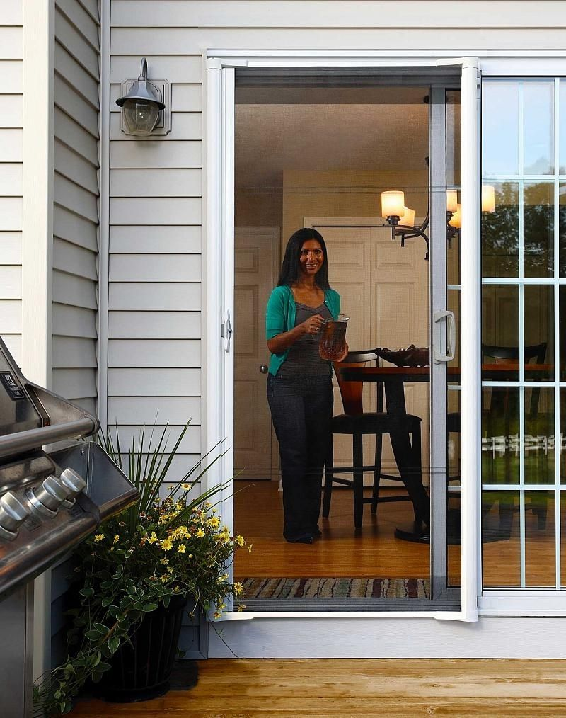 Temporary Screen Door Ideas