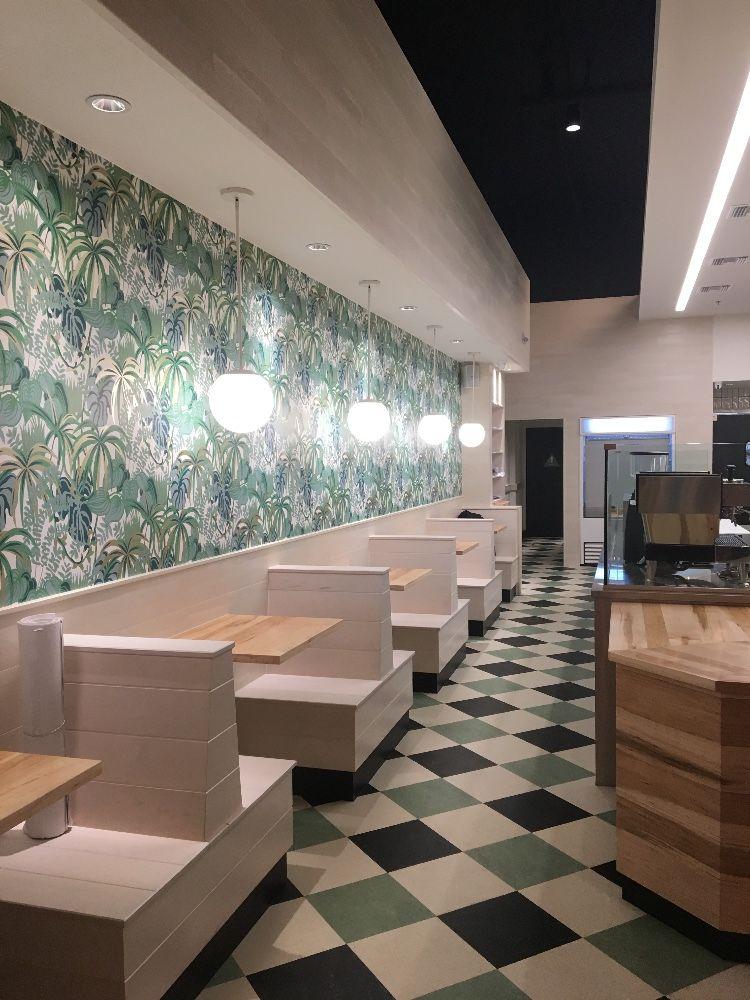 Freshii_Harlequin Floor_Jungle Print Wallpaper_San Diego