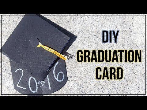 Graduation Card Tutorial {Graduation Cap} - YouTube Graduation