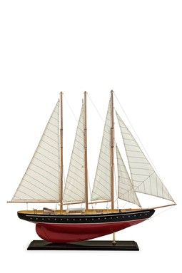 Large Sailboat - Red