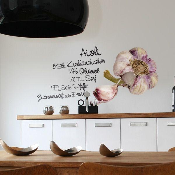 Wandtattoo Küche - Aiol, Küche, Wandtattoos, Wandtattoo, Food