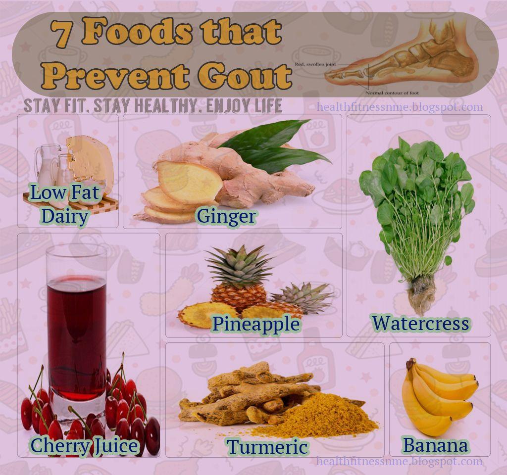 7 Foods That Prevent Gout Gout Diet Gout Remedies Gout