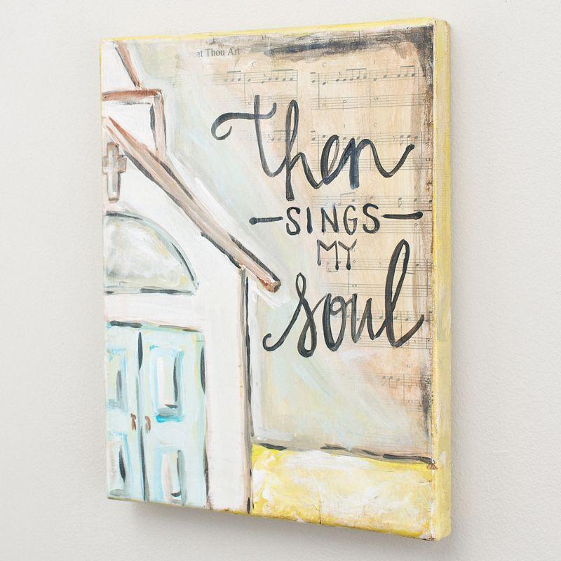 Glory Haus - Then Sings My Soul Canvas   Canvas Art   Pinterest