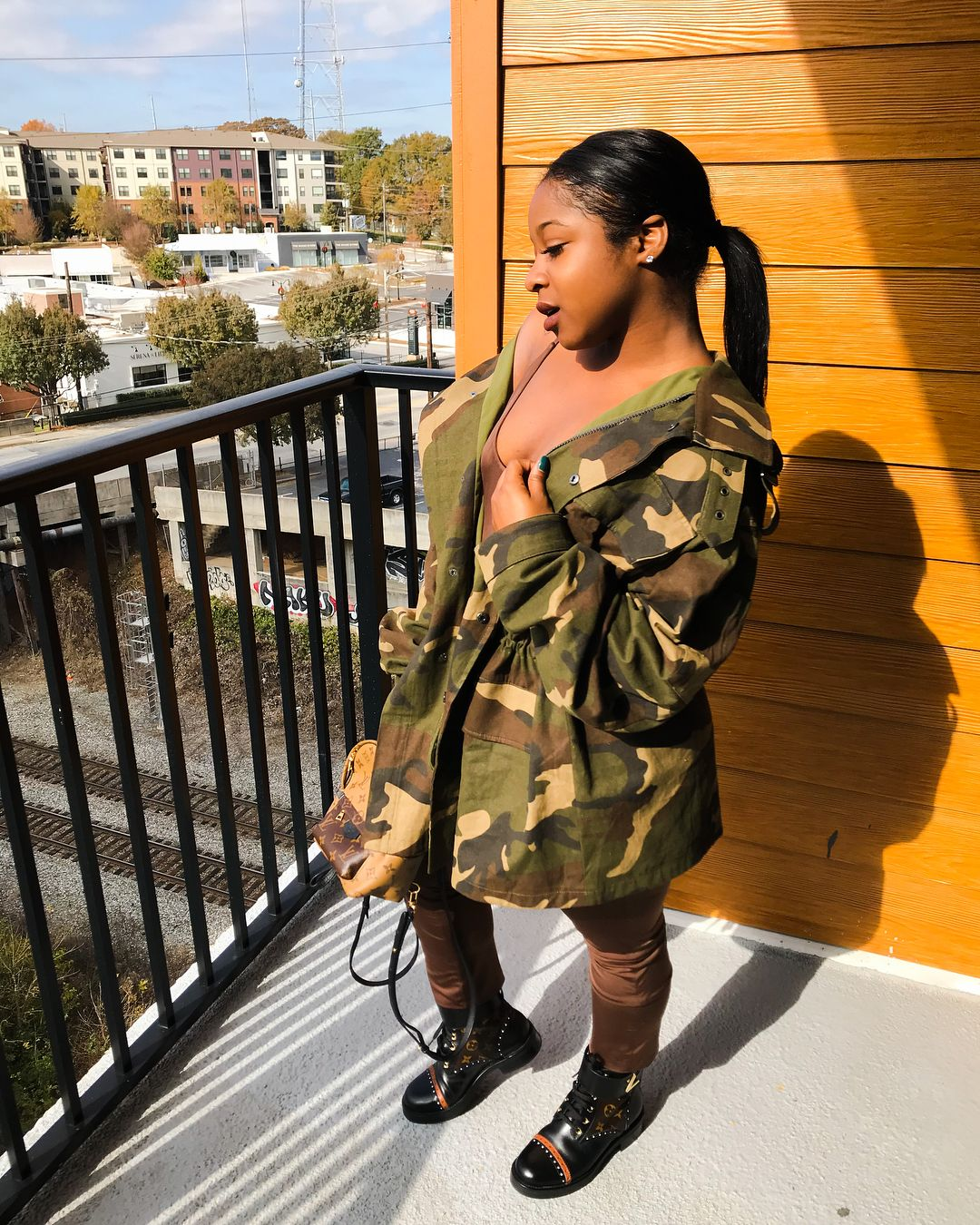 Reginae Carter (With images) | Cute outfits, Girl, Black girls