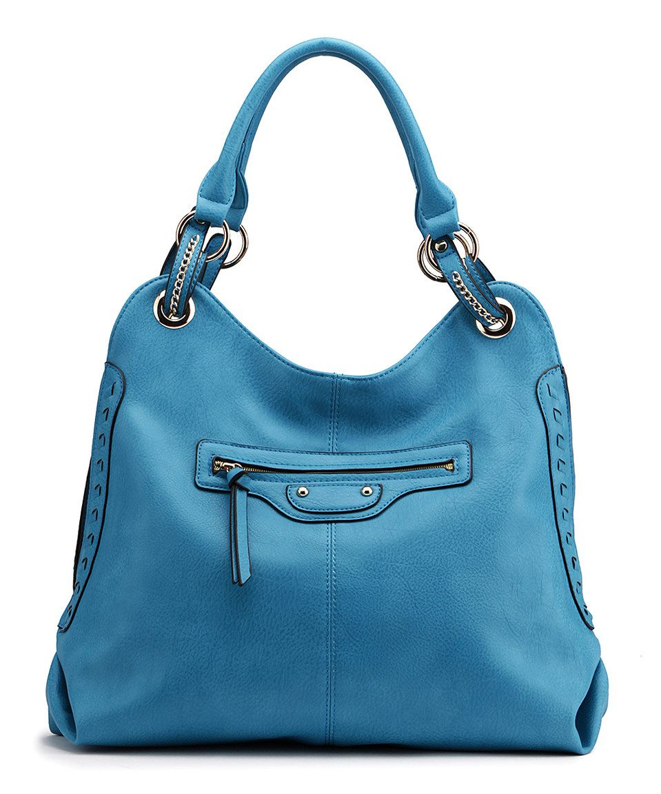 Love this MKF Collection Blue Chain Hobo by MKF Collection on #zulily! #zulilyfinds